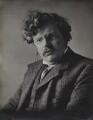 G.K. Chesterton, by Ernest Herbert ('E.H.') Mills - NPG x134952