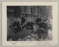 'Six Unionist Whips on the Terrace of the House of Commons', by Sir (John) Benjamin Stone - NPG x134986