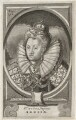 Queen Elizabeth I, by Johann Alexander Böner, after  Jacob Loots (Loets) - NPG D42189