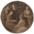 'Five daughters of Jane Stuart-Wortley', after Mary Caroline Milbanke (née Stuart-Wortley), Countess Lovelace - NPG D42108