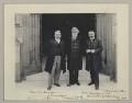 William Kidston; William Booth; David Lloyd George, by Sir (John) Benjamin Stone - NPG x135014