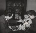Tigran Vartanovich Petrosian and Rona Yakovlevna Avinezar with their son, by Ida Kar - NPG x135026
