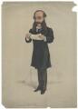 (Paul) Julius de Reuter, Baron de Reuter (né Israel Beer Josaphat), by 'Pet', printed by  Stevens & Co - NPG D42201