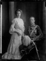 Princess Alice of Greece and Denmark; Prince Andrew of Greece, by Henry Walter ('H. Walter') Barnett - NPG x81592