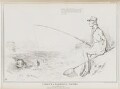 Fishing in Troubled Waters. or How to hold out a bait (Daniel O'Connell; Charles Grey, 2nd Earl Grey), by John ('HB') Doyle, printed by  Alfred Ducôte, published by  Thomas McLean - NPG D41109