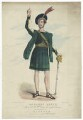 Henry Thomas Betty as Macbeth, by F. Onwhyn, printed by  Hurst, published by  Joseph Onwhyn - NPG D41914