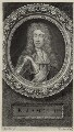King James II, by George Vertue, after  Sir Godfrey Kneller, Bt - NPG D30786