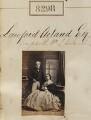 Lawford Acland; Robina Jemima Acland, by Camille Silvy - NPG Ax58117