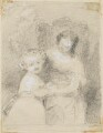 Two unknown sitters, probably by Sir William Charles Ross - NPG D42217