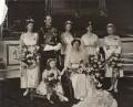 Royal Wedding Group, by Ernest Brooks - NPG x134979