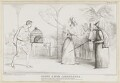 Scene from Cinderella, by John ('HB') Doyle, printed by  Alfred Ducôte, published by  Thomas McLean - NPG D41135