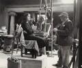 Jacob Epstein sculpting Elizabeth Keen, by Ida Kar - NPG x135169
