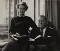 Margaret McBain (née Keith); Hughston Maynard McBain, by Ida Kar - NPG x135208