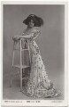 Lily Elsie (Mrs Bullough), by Foulsham & Banfield, published by  Rotary Photographic Co Ltd - NPG x135278