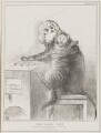 The Cat's Paw (Charles Maurice de Talleyrand-Périgord, Prince de Benevento; Henry John Temple, 3rd Viscount Palmerston), by John ('HB') Doyle, printed by  Alfred Ducôte, published by  Thomas McLean - NPG D41167