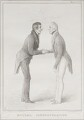 'Mutual Congratulation', by John ('HB') Doyle, printed by  Alfred Ducôte, published by  Thomas McLean - NPG D41178