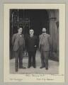 Clarence Seward Darrow; John Elliott Burns; Samuel George Hobson, by Sir (John) Benjamin Stone - NPG x135314