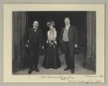 Mrs W. Desmond Humphreys (Eliza Margaret Jane Humphreys, née Gollan); William O'Malley and an unknown man, by Sir (John) Benjamin Stone - NPG x135315