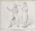 A Peeler and a Repealer (John Gully; Daniel O'Connell), by John ('HB') Doyle, published by  Thomas McLean - NPG D41183
