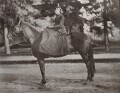 Mary Berenson (née Smith) on her horse Anticellere at Smith College, by Unknown photographer - NPG Ax160580
