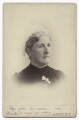 Hannah Smith (née Whitall) (Mrs Pearsall Smith), by Veeder Photographic Studio - NPG Ax160626