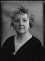 Lady Joan Elizabeth Mary Verney (née Cuffe), by Bassano Ltd - NPG x156460