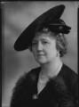 Lady Joan Elizabeth Mary Verney (née Cuffe), by Bassano Ltd - NPG x156462