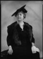 Lady Joan Elizabeth Mary Verney (née Cuffe), by Bassano Ltd - NPG x156464
