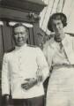 Third Mate Oba; Barbara Strachey (Hultin, later Halpern), by Unknown photographer - NPG Ax161190