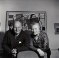 Sir Robert Philip Wyndham Adeane; Kathleen Hamet (née Dunn), Lady Adeane, by Ida Kar - NPG x135430
