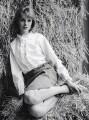 Jean Shrimpton, by Sandra Lousada - NPG x135425