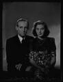 Thomas Mervyn Smith-Dorrien-Smith; Princess Tamara Imeretinsky, by Bassano Ltd - NPG x178993
