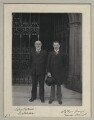 John Elliott Burns; David Lloyd George, by Sir (John) Benjamin Stone - NPG x135489