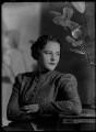 Hon. Lelgarde De Clare Elizabeth Evans (née Philipps), by Bassano Ltd - NPG x179008