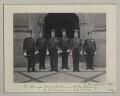 'The King's Marshalmen at the opening of Parliament', by Sir (John) Benjamin Stone - NPG x135508