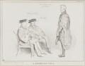 A Promising Pupil (Sir Henry Halford, 1st Bt; John Wilson Croker; Arthur Wellesley, 1st Duke of Wellington), by John ('HB') Doyle, published by  Thomas McLean - NPG D41286