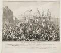 Peterloo Massacre (or Battle of Peterloo), published by Richard Carlile - NPG D42256