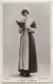 Gertie Millar as Prudence Pym in 'The Quaker Girl', by Rita Martin, published by  Rotary Photographic Co Ltd - NPG x160534