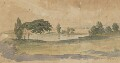 Landscape study, by Robert Dighton - NPG 5477a