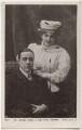 George Robey; Ethel Haydon, by Edward Ireland, published by  Rotary Photographic Co Ltd - NPG x160578