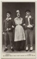 George Robey; Violet Loraine and Alfred Lester in 'The Bing Boys Are Here', by Wrather & Buys, published by  J. Beagles & Co - NPG x160579