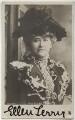 Ellen Terry, by Lafayette, published by  Raphael Tuck & Sons - NPG x160595