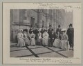 'Colonial Conference Visitors on the Terrace of the Houses of Parliament', by Sir (John) Benjamin Stone - NPG x135547