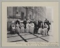 'Colonial Conference Visitors on the Terrace of the Houses of Parliament', by Sir (John) Benjamin Stone - NPG x135548