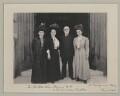 John Elliott Burns with American visitors to the House of Commons, by Sir (John) Benjamin Stone - NPG x135551