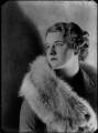 Brydgytte Blanche van der Wyck (née Bentinck), by Bassano Ltd - NPG x179422