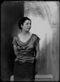 Hon. Edith Honor Earl, by Bassano Ltd - NPG x179516