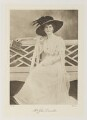 Violet Anne Blanche Dunville (née Lambart), by Bassano Ltd - NPG Ax161347