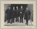 Mehmed Talat Pasha and Philip James Stanhope, Baron Weardale with two other Turkish delegates, by Sir (John) Benjamin Stone - NPG x135595