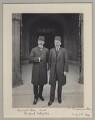 Mehmed Talat Pasha with a Turkish delegate, by Sir (John) Benjamin Stone - NPG x135596